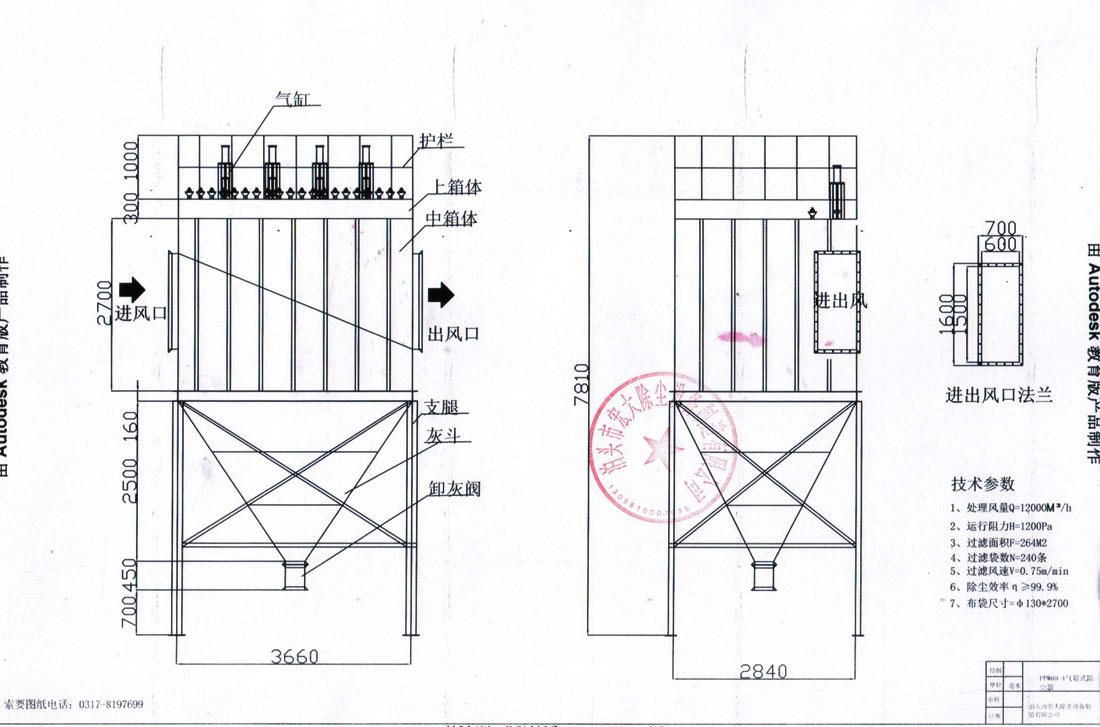 返回首页 产品展示 除尘器分类 脉冲布袋除尘器  当含尘气体从进风口